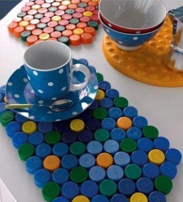 reciclado de tapas