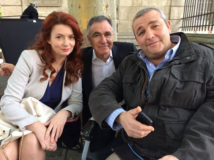 Sandra Dorset, Jean Dell et Laurent Gamelon. #Clem