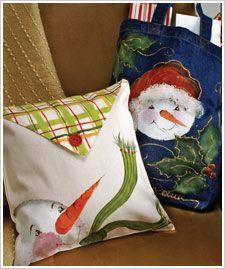 Snowman Pillows