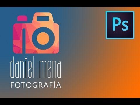 Crear mi firma / logo de fotógrafo con photoshop - YouTube