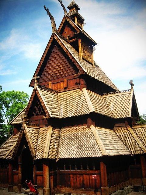 Iglesia de madera de Gol