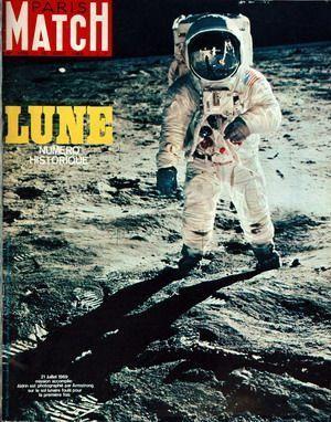 Paris Match - Appolo 11 - Neil Armstrong