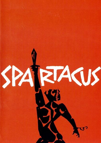 Every Movie Poster that Saul Bass Ever Made spartacus_bass ? Film.com