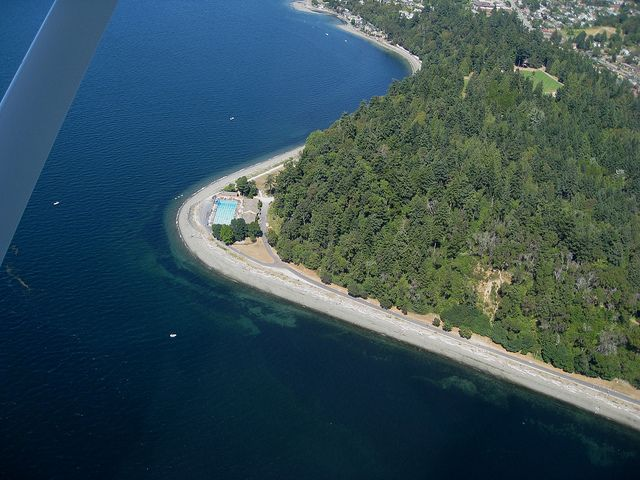 Lincoln Park, West Seattle - Love to run through the trees and along the water!