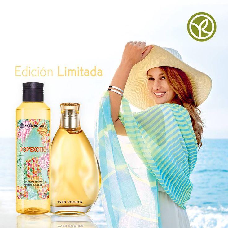 En verano todas buscamos una fragancia que nos haga sentir frescas, ¿Sabías que el aroma perfecto lo puedes encontrar en la línea Pop´Exotic? Enamórate de su esencia única.