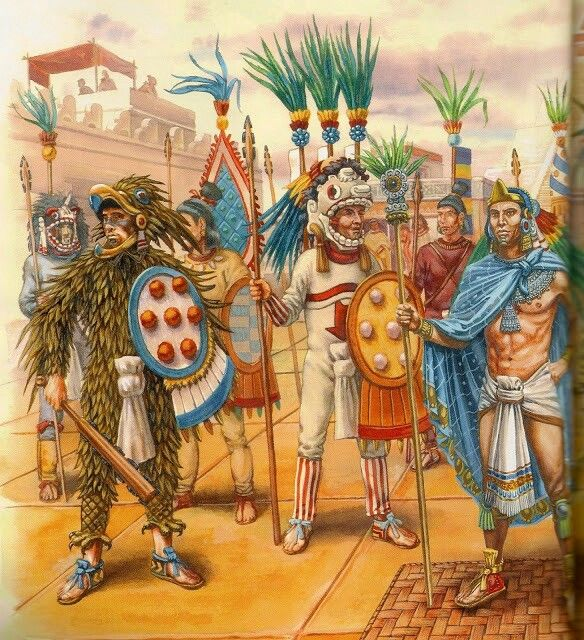 the spiritual world of the aztecs The aztecs: a pre-columbian history by the blue tezcatlipoca was the fertility spirit and the patron spirit of the aztec center and periphery in the aztec world.
