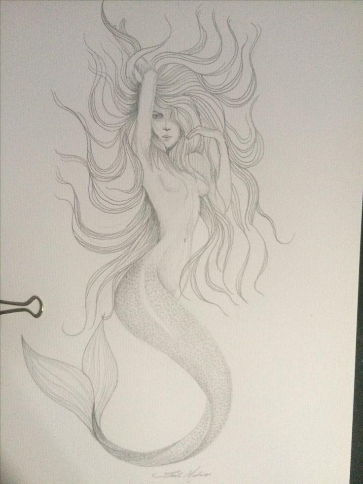 Sereia - Lápis grafite