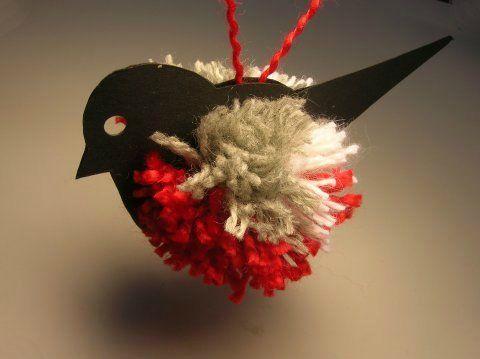 Новогодняя елка, снеговик, венок и другие новогодние украшения из помпонов. Мастер-классы + видео   Домохозяйка
