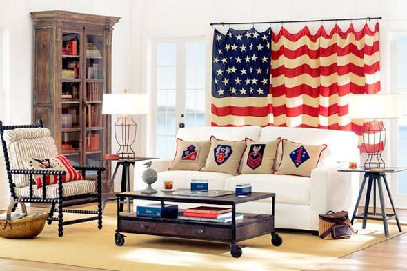 Fourth of July: How to Decorate with the United States Flag - Home Stories A to Z