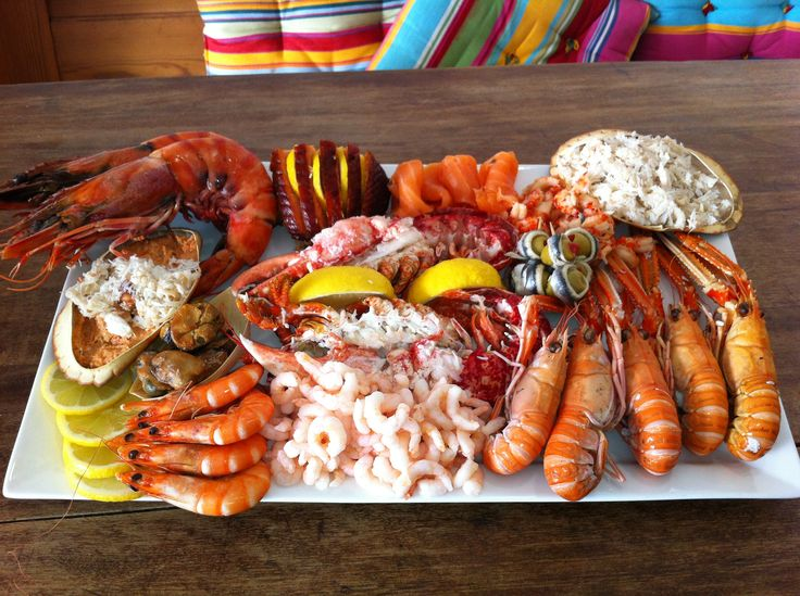 cold seafood platter - Yahoo Image Search Results
