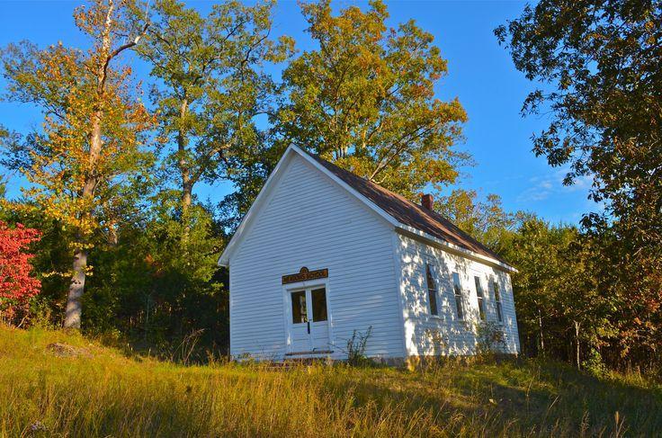 Meadows School, rural Taney County, MO (Robert McCormick