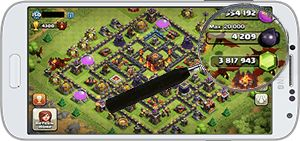 code de triche clash of clans
