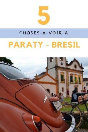 Que faire à Paraty, pépite architecturale du sud de l'état de Rio ? Parmi les incontournables : le centre historique, la vie culturelle et/ou nocturne