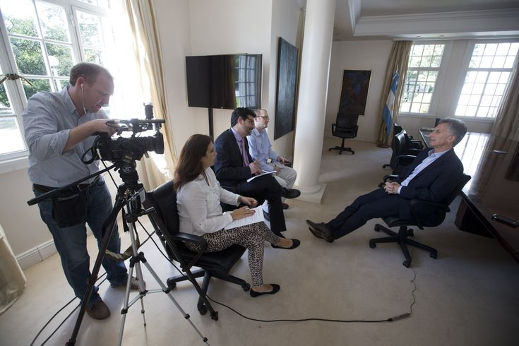 A week after sitting down with former Mexican President Vicente Fox, AP's Latin America team scored another all-formats, one-on-one interview with the...