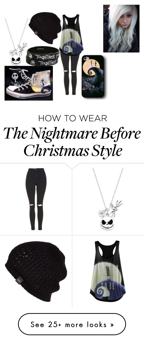 """""""Untitled #341"""" by band-trash-33 on Polyvore featuring Topshop, Converse, Disney and UGG Australia"""