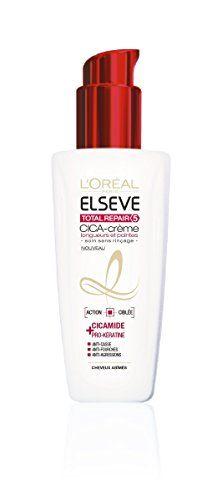 Elsève L'Oréal Paris Elsève Total Repair 5 Soin Crème sans Rinçage Cheveux Abimés 100 ml Elsève http://www.amazon.fr/dp/B00AX1JZGQ/ref=cm_sw_r_pi_dp_4B-.vb03JR1N3