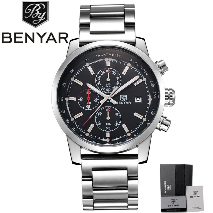 Like and Share if you want this  Luxury Men Watches Full Steel Japan Quartz Wrist Watch BENYAR Military Business Sports Watch Men's Chronograph erkek kol saati     Tag a friend who would love this!     FREE Shipping Worldwide     Buy one here---> https://shoppingafter.com/products/luxury-men-watches-full-steel-japan-quartz-wrist-watch-benyar-military-business-sports-watch-mens-chronograph-erkek-kol-saati/