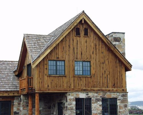 Trestle redwood siding rustic redwood board and batten for Cedar siding house plans