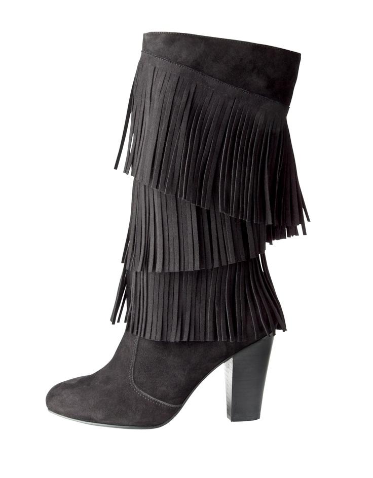 Name: Fringe Boot  Item Number: 2633432511  Price: £46  Size Range: 3-8
