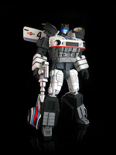 master class autobot jazz. a custom job by frenzy_rumble. light up visor