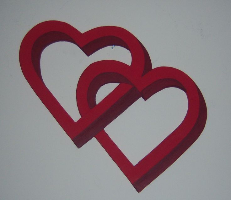 wall hung love heart silhouette €12 plus p+p