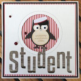 Studenterkort I dag blogger jeg bl.a. med studenterkort til de internationale studenter. Nu har jeg lavet kort nok for i år, og jeg s...
