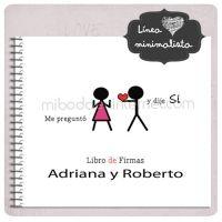 Libro Firmas Boda Love
