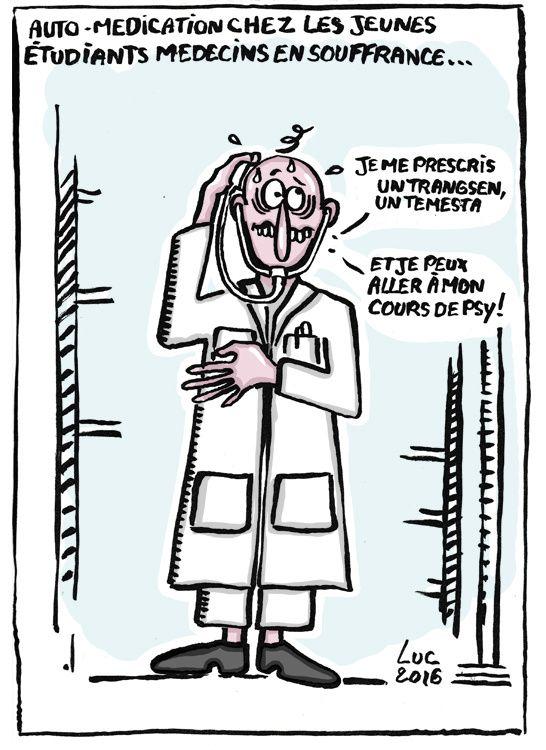 #medecin #etudiant #stresse #automedication #detresse #souffrance #saturation #suicide