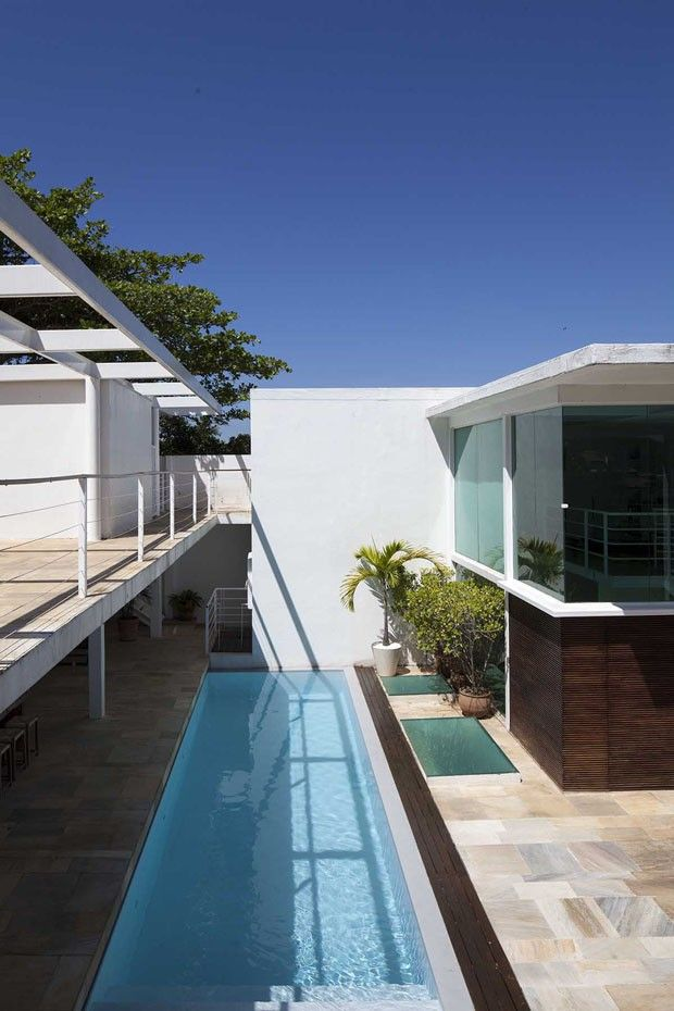 House of the Italian winemaker Nicola Massa in Rio.