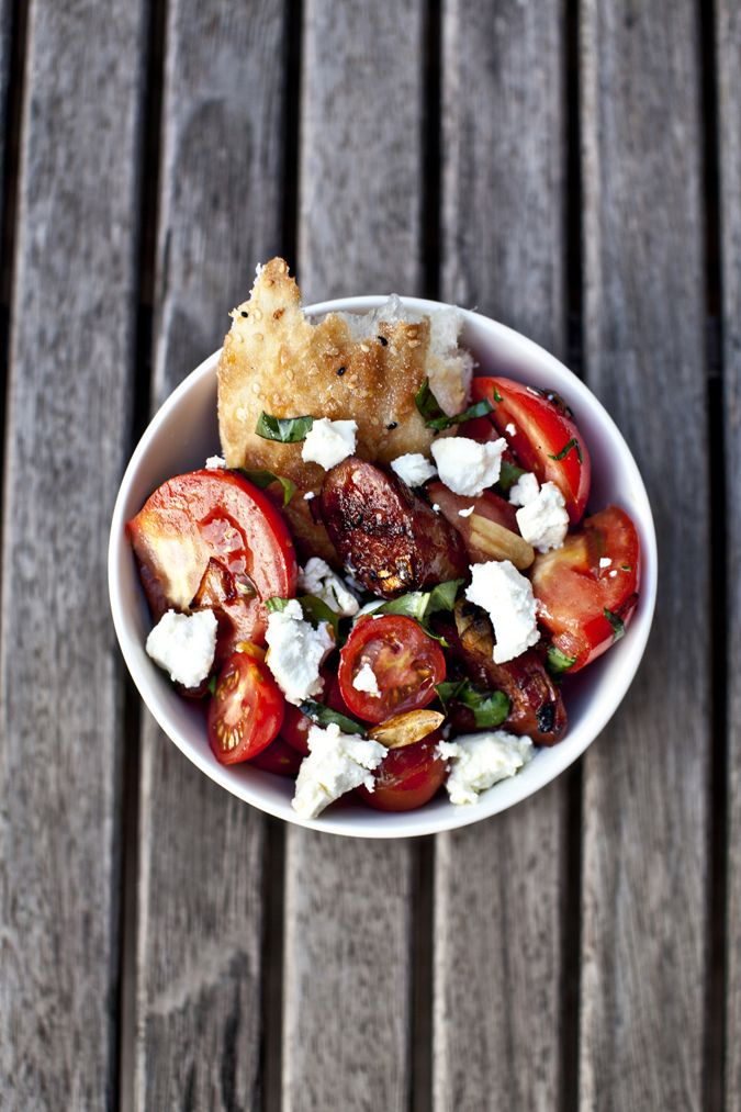 Chorizo and Tomato Salad