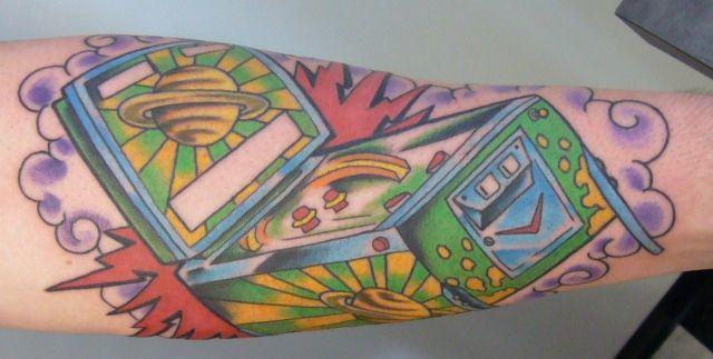 tattoos of pinball pinball tattoos tattoos