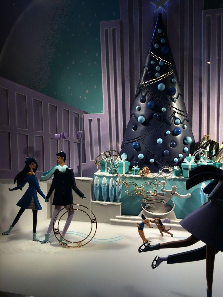 Tiffany&Co Christmas Display 2014