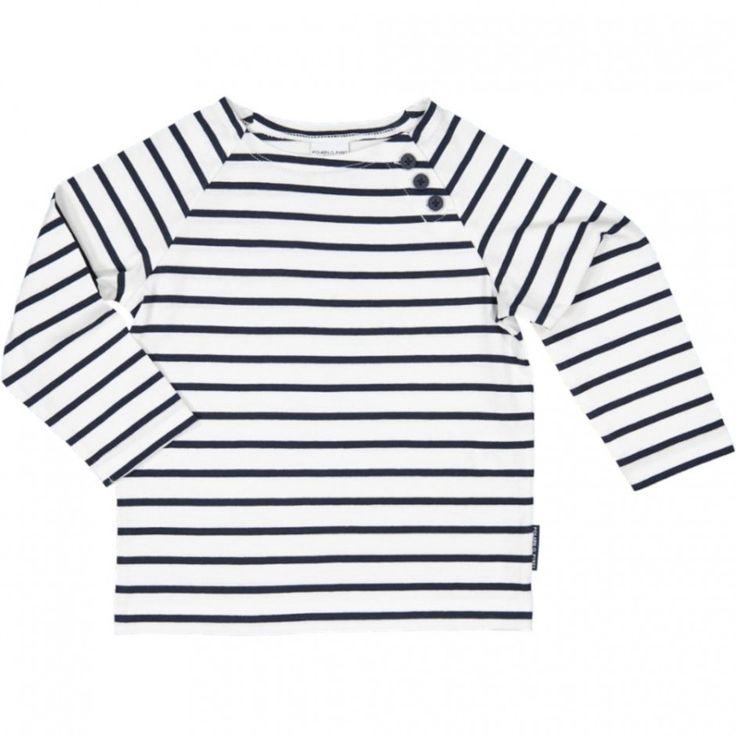 Genser stripet baby polarn 115,- (tilbud)