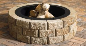 anchor block products | hudson stone™ fire pit | kit stone fire pit kit Gorgeous stone fire pit kit