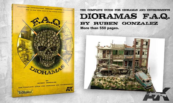 The complete guide for Dioramas & Environments  || DIORAMAS F.A.Q || by Rubén González