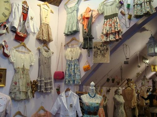 Vintage shop in Candem market London