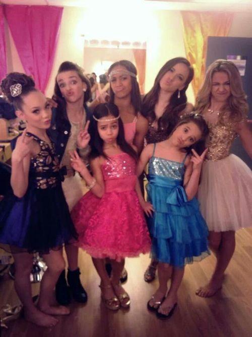 Maddie, Kendall, Nia, Payton, Chloe, Asia, and Mackenzie
