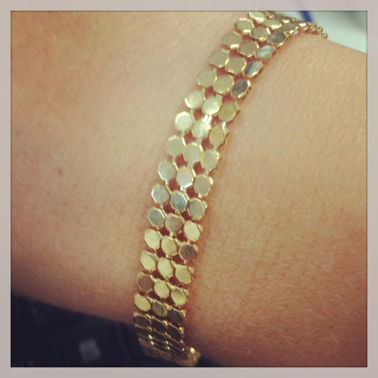 My new vintage Glomesh bracelet