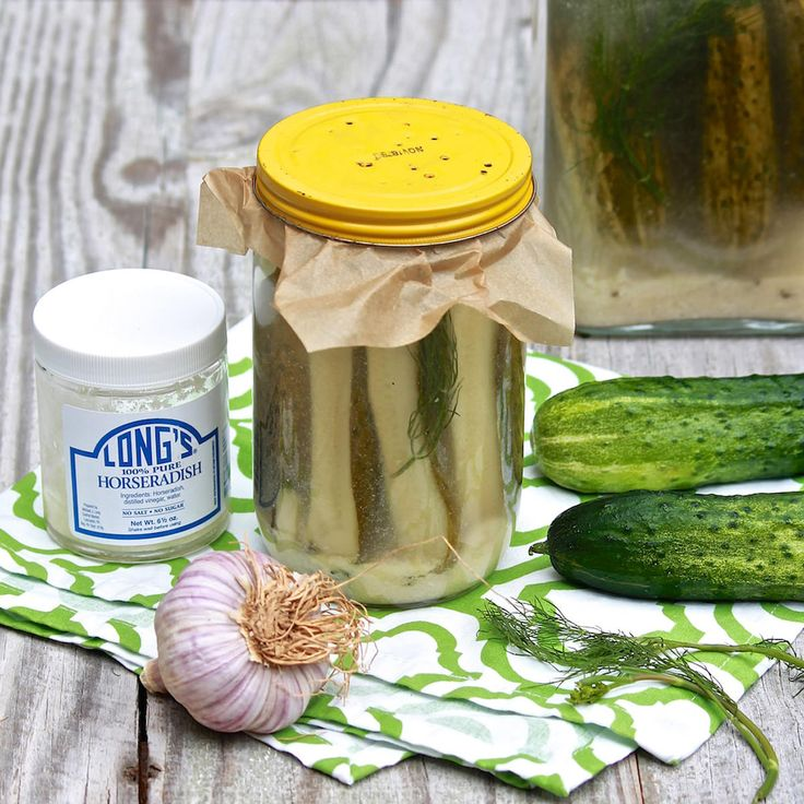 Old-Fashioned Horseradish Pickles — The Fountain Avenue Kitchen