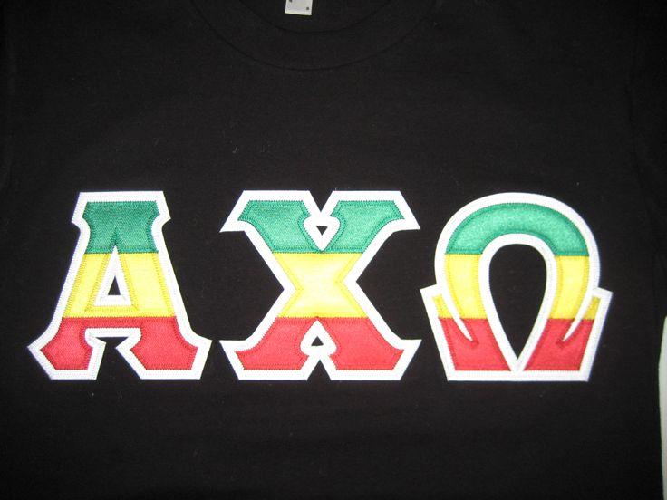 Rasta Greek Letters