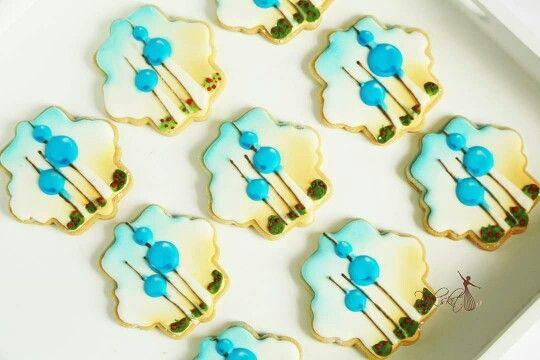 Kuwait towers cookies