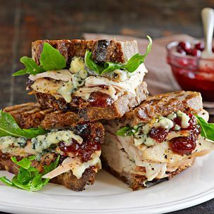 Turkey Panini with Blue Cheese and Cranberry-Apricot Chutney | Williams-Sonoma