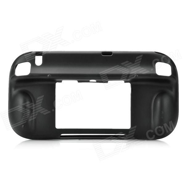 Quantity: 1; Color: Black; Material: TPU; Compatible Model: Wii U; Function: Shock absorbent, shatterproof, and anti-scratch; Unique design allows easy access to all buttons, controls, and ports without having to remove the case; Soft and smooth inner wall, increase a extra protection; Reinforced corners designed to absorb collision momentum, for maximum protection; Translucent effect, more fashionable feeling; Packing List: 1 x Protective case; http://j.mp/1vnOfSq