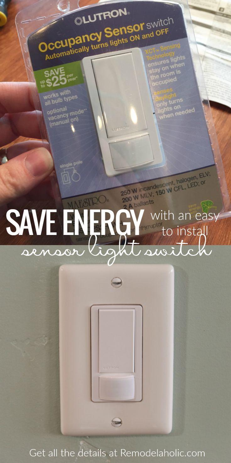 Automatic light sensor for bathroom - Automatic Light Switch