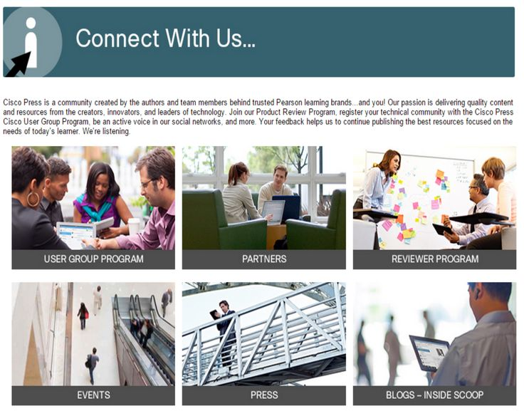 21 best all things cisco images on pinterest cisco systems join cisco press online in user groups and in social media spaces fandeluxe Gallery