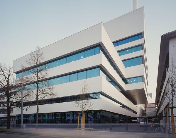 Basel area - architecture by Aron Lorincz, via Behance: Ccf Building