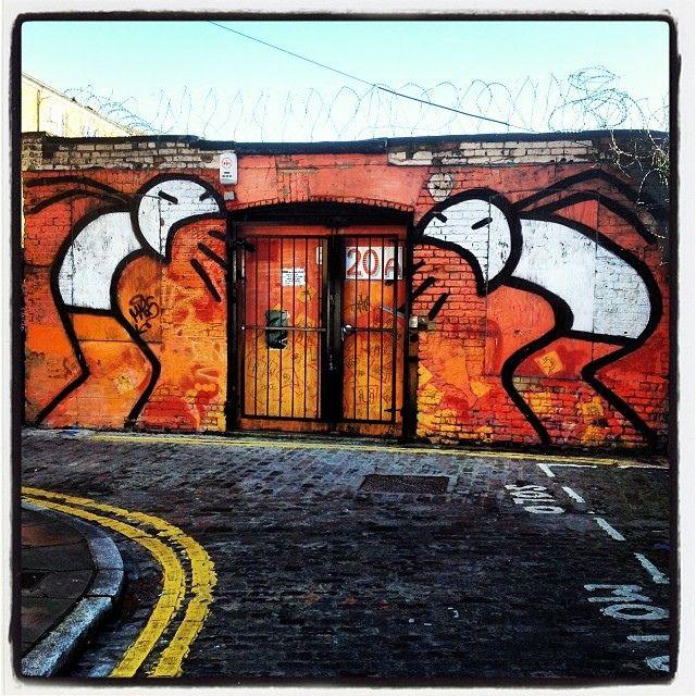 #stik #streetart #bricklane