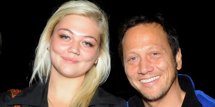 Elle King and Rob Schneider   Schneider is King's father.