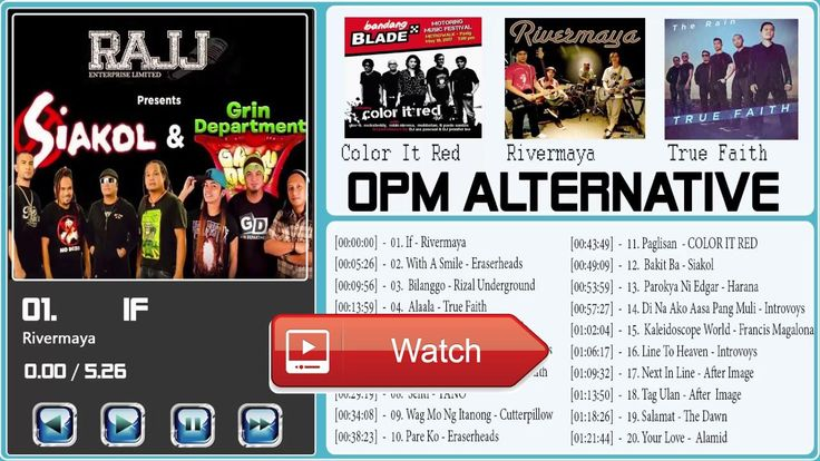 OPM Playlist Alternative Compilation 17 l Opm Alternative Rock Love Songs Full Album 17 Vol1  OPM Playlist Alternative Compilation 17 l OPM Playlist Alternative Full Album 17 OPM Playlist Alternative Compilati
