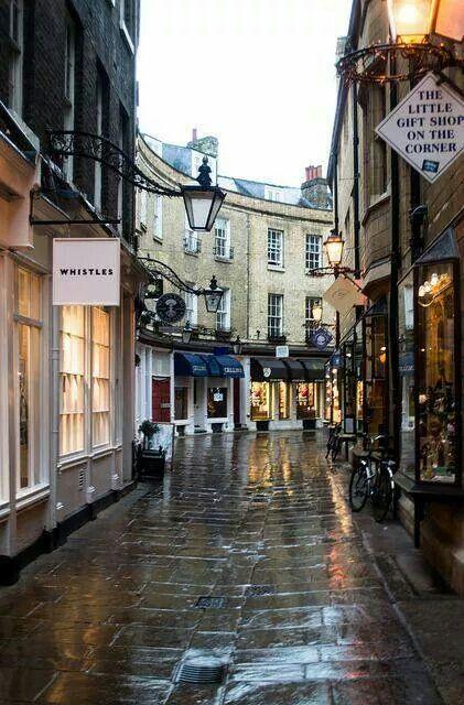 London - I always loved this little street